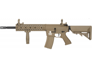 Replique AEG LT-12 GEN2 M4 RIS EVO pack complet 1j Tan - Lancer Tactical - LK9013