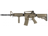 Replique LT-04 Proline G2 metal M4 RIS ETU Tan - Lancer Tactical - LK9047