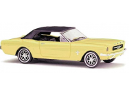 Ford Mustang softtop jaune Busch HO - T2M-BUV47524