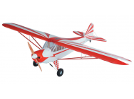 Super Flying Model Piper Cub (Clipped) 25% ARTF Red - A-SFM8712A