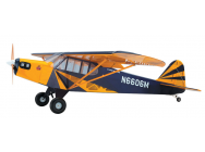 Super Flying Model Piper Cub (Clipped) 25% ARTF Blue - A-SFM8712B