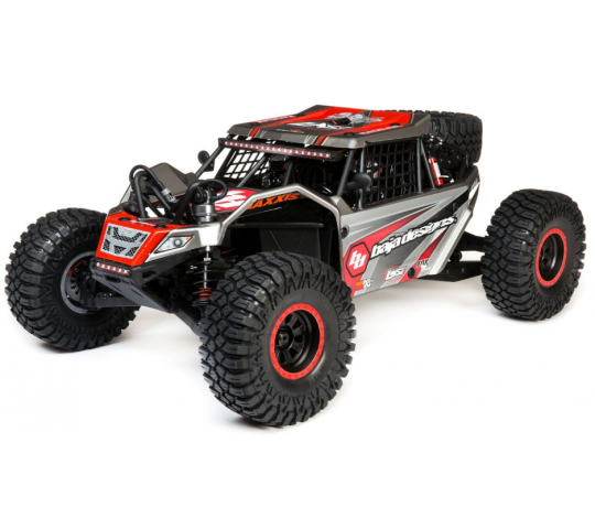 Losi Super Rock Rey 1/6 4WD Brushless AVC RTR Baja Design - LOS05016T2