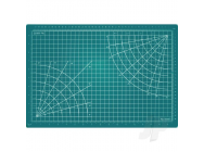 12x8.5in Self-Healing Cutting Mat, Green (Bulk) - EXL60002