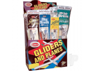 Balsa Gliders 1-Tier 4-Assortment Combo Pack Display (48pcs) - GUI77-D