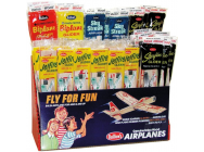 Balsa Planes 2-Tier 4-Assortment Combo Pack Display(84pcs) - GUI81-D