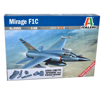 Mirage F1 C Upgraded Italeri 1/48 - T2M-I2695R