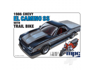 1986 Chevy El Camino SS with Dirt Bike - MPC888