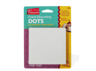 Foam Mounting Dots,Double-Sided, .75in Diameter, (48 Dots) - SUP16022