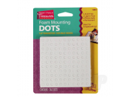 Foam Mounting Dots, Double-Sided, .25in Diameter (363 Dots) - SUP16024