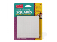 Foam Mounting Squares, Double-Sided Extra Thick (200 Squares) - SUP16025