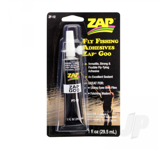 Fly Fishing Adhesives Zap Goo (1fl oz, 29.5ml) - ZAPZF-12