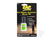Fly Fishing Adhesives Zap-A-Gap Medium Brush On (0.25oz, 7g) - ZAPZF-13