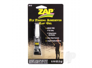 Fly Fishing Adhesives Zap Gel (0.10oz, 3g) - ZAPZF-27