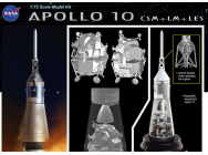 Apollo 10 CSM+LM+LES Dragon 1/72 - T2M-D11003