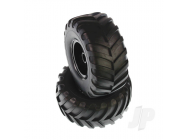 MT Wheels Complete (Volcano) (2pcs) - HBX6598P100A