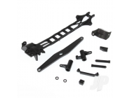 Upper Deck + Spur Gearbox Guard + Battery Cover + Steering Assembly + Servo Mount + Bushes (Volcano, Warhead, Frontier) - HBX680P002