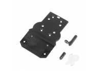 Front Bottom Plate + Buggy Body Posts (Hailstorm, Blaster, Gallop) - HBX681P004