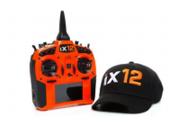 Spektrum IX12 ORANGE intelligent radio system Android 2.4Ghz DSMX. + Casquette Offerte - SPMR12000OEU