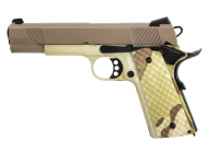 Replique GBB 1911 MEU Raven full metal Hydro Camo / tan 1,0J - PG3245