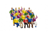 Set figurines tribune 20pcs Carrera 1/32 - T2M-CA21129