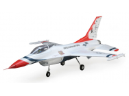 F-16 Thunderbirds 70mm EDF BNF Basic  AS3X -SAFE - EFL7850