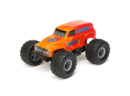 1/28 Micro Ruckus 2WD Monster Truck RTR, Orange - ECX00008T2
