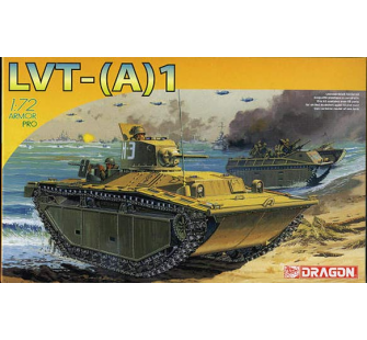 LVT-(A)1 Dragon 1/72 - T2M-D7387