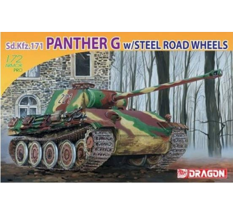 Panther G Roues metal Dragon 1/72 - T2M-D7339
