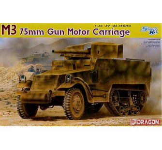 M3 75mm Gun Motor Carriage Dragon 1/35 - T2M-D6467