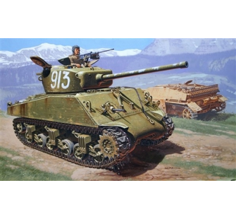 M4A2 Sherman 76mm Wet Italeri 1/35 - T2M-I6483