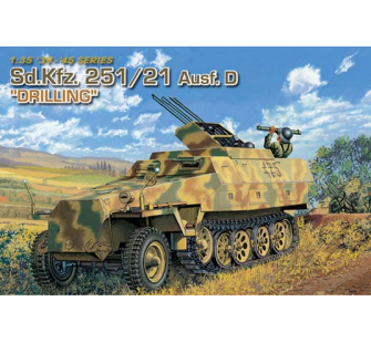 Sd.Kfz.251/21 Ausf.D Drilling Dragon 1/35 - T2M-D6217