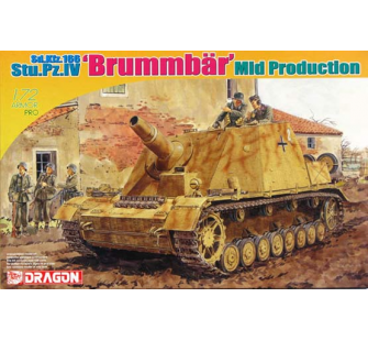 Brummbar Milieu de Production Dragon 1/72 - T2M-D7242