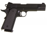 Replique GBB 1911 MEU Raven full metal Gaz noir 1J - PG3240