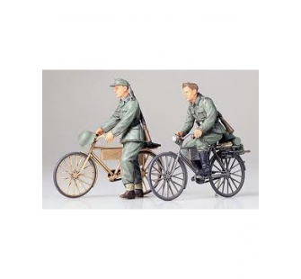 Soldats Allemands a bicyclette Tamiya 1/35 - TAM-35240