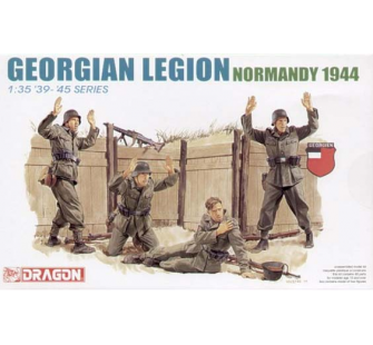 Legion Georgienne Normandie 44 Dragon 1/35 - T2M-D6277