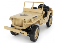 Jeep Willys 1/10 4WD bleu RTR - JWBL-COPY-1