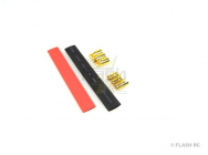 Prise OR 6mm DB6 M/F (3 paires) + gaine thermo - DB6SET