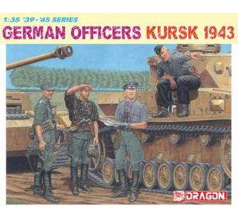 Officiers allemands Koursk 1943 Dragon 1/35 - T2M-D6456