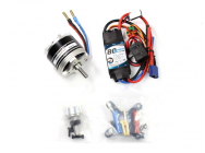 Combo propulsion Brushless Dualsky pour ExtremeFlight 60  - TC.6A-70E