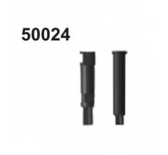 50024 Shaft 1. and 2. gear - 004-50024