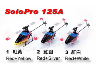 Nine Eagle Solo Pro 125 Rouge/Silver - Emetteur J6 - NIN-NE.125A/RS-20021-COPY-1