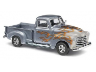 Pick up chevy deco. flamme Busch HO - T2M-BUV48294