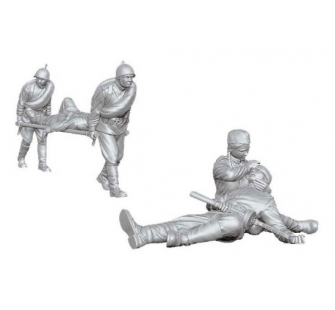 Personnel Medical Sovietique Zvezda 1/35 - T2M-Z3618