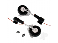 Main Landing Gear Set (Legs + Wheels + Retracts) (T-28) Arrows Hobby - ARRAC110