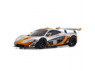 Mini-Z RWD McLAREN P1 GTR SILVER/ORANGE (W-MM/KT531P) - K.32324SO