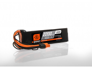 Spectrum Batterie LiPo intelligente de 11,1 V 2200mAh 3S 50C, IC3 - SPMX22003S50