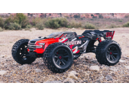 Arrma 1/8 KRATON 6S BLX 4WD Monster Truck Speed ​​Brushless RTR, Rouge - ARA106040T1