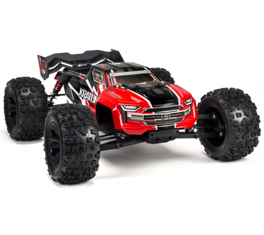 Arrma 1/8 KRATON 6S BLX 4WD Monster Truck Speed Brushless RTR, Rouge - ARA106040T1