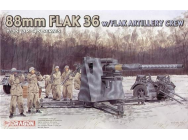 FlaK 36 88mm et servants Dragon 1/35 - T2M-D6260