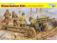 Obusier US 105mm M2A1 Dragon 1/35 - T2M-D6499